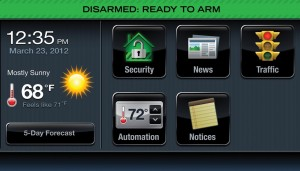 Dial Security Ventura County - Thermostat Readout