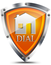 Dial Security Home Security Badge